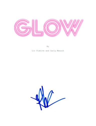Alison Brie Signed Autographed GLOW Pilot Episode Script COA