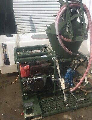Military Yanmar Diesel Electric Start Skid Mounted Sprayer Tank Mobility Denial