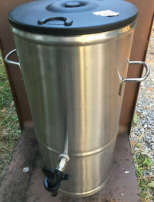 Bloomfield Stainless Steel Tea Drink Dispenser Round 8802 5g 5 Gallon Bunn Tds5