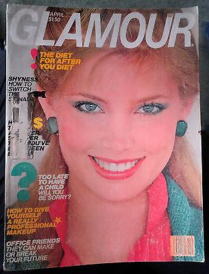 Vtg GLAMOUR 4/1979 Kelly Emberg Gia Carangi Kim Alexis perfume ads Brook Shields