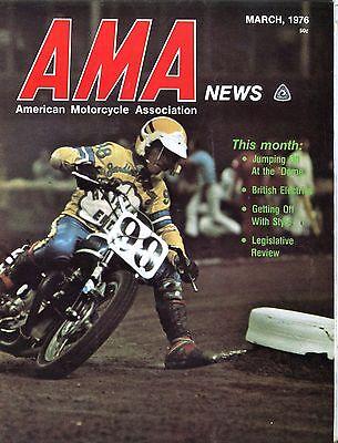 Ama American Motorcycle Association News Magazine March 1976 Ex 041717Nonjhe