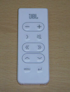 JBL ON STAGE MICRO III IIIP 3 RADIAL REMOTE CONTROL WHITE