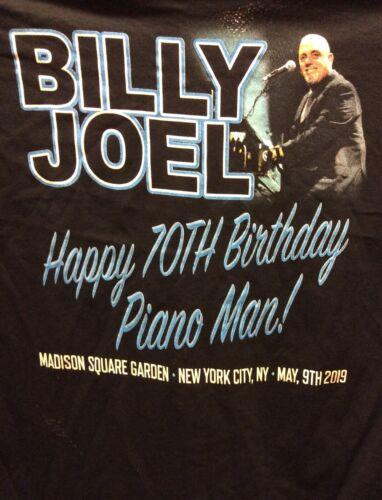 BILLY JOEL 70TH BIRTHDAY BASH SHIRT XL MSG NYC 5/9/19 MADISON SQUARE GARDEN