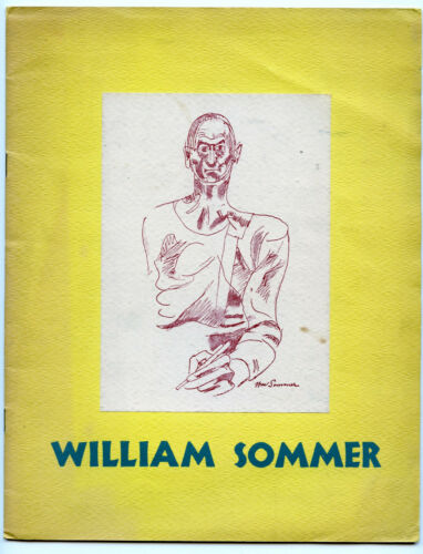 William Sommer Exhibition of Paintings March 18/April 20 1946 ten thirty gallery