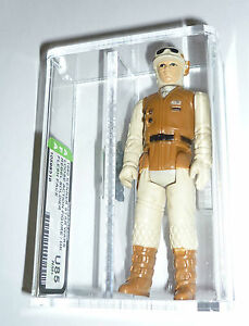 LOOSE VINTAGE STAR WARS ESB REBEL SOLDIER FLESH FACE AFA U85 HK COO