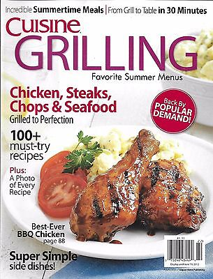 Cuisine Grilling Magazine Chicken Steaks Pork Chops Seafood Recipes Side Dishes