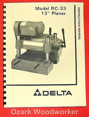 Delta-rockwell Rc-33 13 Planer Feedroll Shift Handle Operator Part Manual 0253