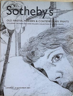 Sotheby's OLD MASTER, MODERN & CONTEMPORARY PRINTS LONDON L01173 Nov 2001