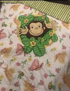 Curious George Twin Bed Set *great condition*