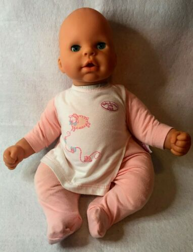 "Zapf Creation CHOU CHOU 18"" Baby Doll Interactive Original Outfit Blue Eyes 2002"