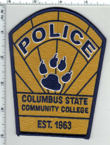 Columbus State Community College Police (Ohio) 2nd Issue Shoulder Patch