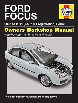 Haynes Ford Focus Petrol 2005 - 2011 Manual NEW 4785