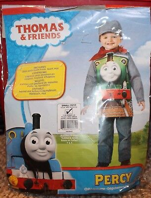 New! Toddler Boys Thomas & Friends Percy Costume (Halloween) - Size 4-5-6 Small