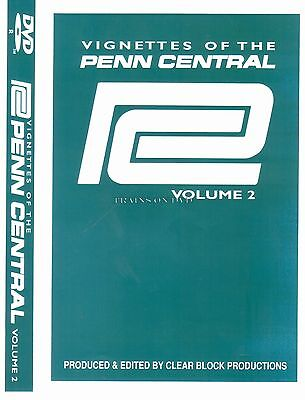 VIGNETTES OF THE PENN CENTRAL VOL 2 CLEAR BLOCK