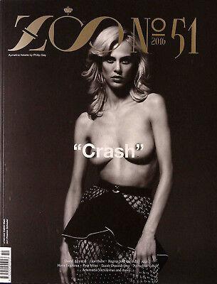 ZOO MAGAZINE #51 S/2016 AYMELINE VALADE Anamaria Vartolomei HANA JIRICKOVA @new@