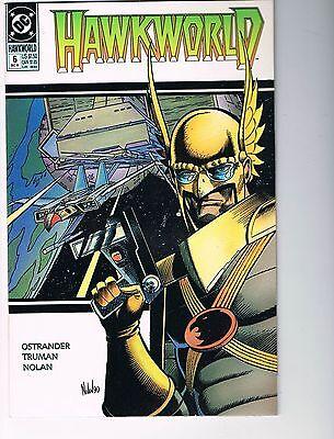Hawkworld lot of four comics # 6 7 8 10    NM-  9.2