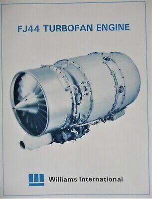 Flyer William International FJ44 Turbofan Jet Engine Mach Thrust Data Dimensions