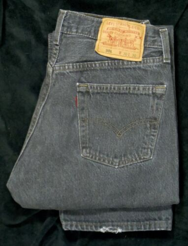 Vintage Levis 501-Womens-Made in USA-Tag Size 30x30(29x30)FAST Shipping!