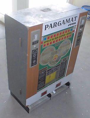 DM geld spielautomat geldspieler PARGAMAT JUWEL automat 70er technik top deko