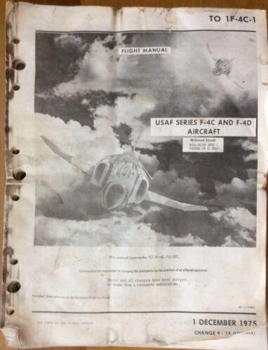 F-4C & F-4D Phantom Original Flight Manual, McDonnel Douglas Pilot Manual