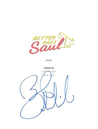 Bob Odenkirk Signed Autographed BETTER CALL SAUL Pilot Episode Script COA