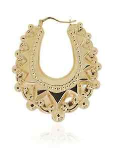 9ct Large Size New Yellow Gold Ladies Spike Victorian ...