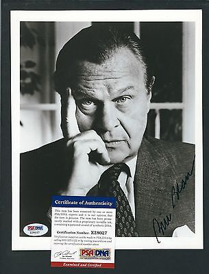 "Bill Blass signed 8""x10"" photograph PSA Authenticated American Fashion Designer"