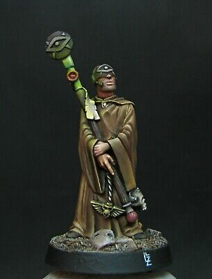 Imperial Guard Epic scale Death Korpse of Krieg Trench coat HWT Auto Cannon