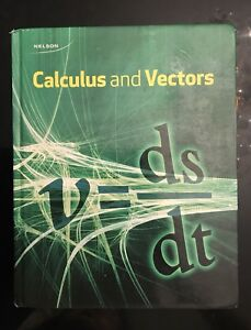 NELSON Calculus and Vectors Textbook