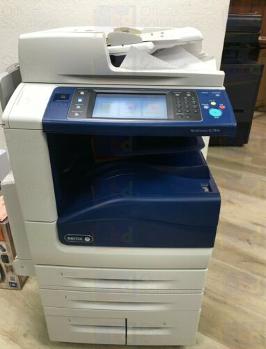 Xerox Workcentre Ec7856 A3 Color Laser Copier Printer Scanner 55 Ppm 12k Ec7836