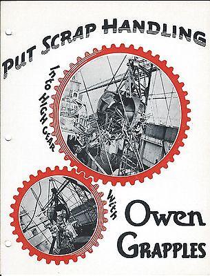 Equipment Brochure - Owen - Type Ra Rb - Scrap Grapples E3519