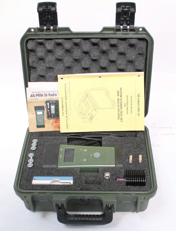 AN/PRM-36 Radio Test Set Kit Model 900858-001 NSN 6625-01-621-3733
