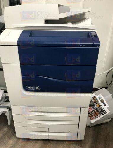 Xerox Color 560 Digital Production Printer Copier Scanner Fiery 65ppm 60k 570
