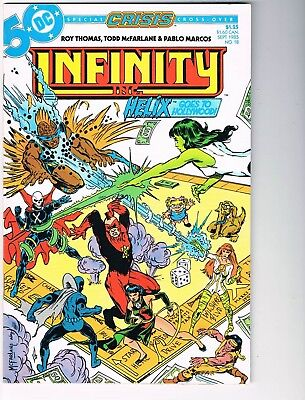 Infinity Inc # 18  VF/NM 9.0  Crisis Crossover