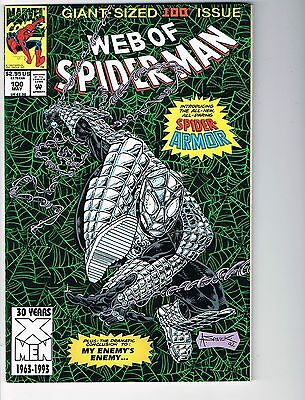 Web of Spiderman  # 100  NM 9.4