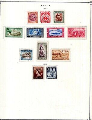Kenr2: Samoa & San Marino Collection from 7 Vol Scott Intern Albums