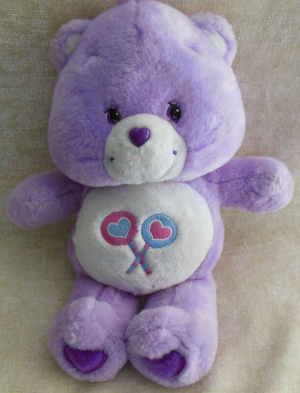 Care Bear Share Bear, Talks, 2003 plush
