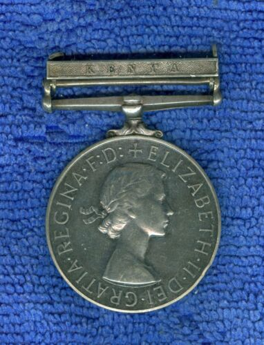 AFRICA GENERAL SERVICE MEDAL GREAT BRITAIN CHIEF OFFICER