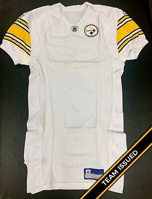 Pittsburgh Steelers Team Issued Reebok Away Jersey Uniform Back Stock (Reebok Steelers Jersey)