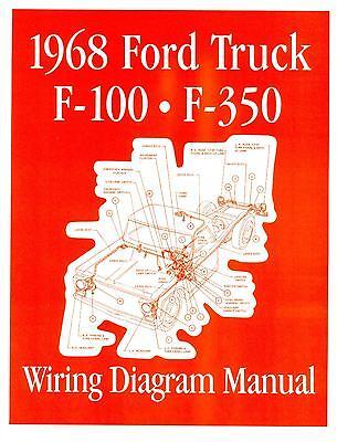 1968 Ford F100-f350 Truck Wiring Manual