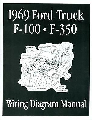 1969 Ford F100-f350 Truck Wiring Manual