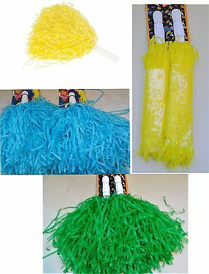 Pom Poms (Pair) Shakers Party Favors Cheer Parade Sports Costume Accessory](Cheer Party Favors)