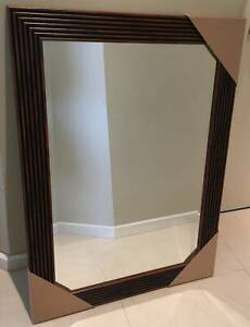 SPECIAL!!TEAK MIRROR 76cmX102cm $40 (LIMITED TIME ONLY $40