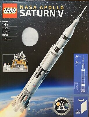 LEGO Ideas 21309 Apollo Saturn V Rocket - New