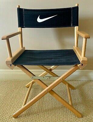 Vintage Nike Just Do It Jordan Directors Chair Store Display Advertisement MIB