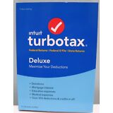 TURBOTAX DELUXE 2017 FEDERAL + STATE + FEDERAL E-FILE FOR WINDOWS AND MAC