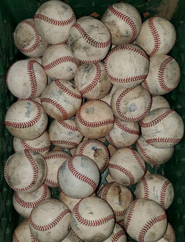 (20) MLB Major League Used Baseballs lot Rawlings Manfred balls