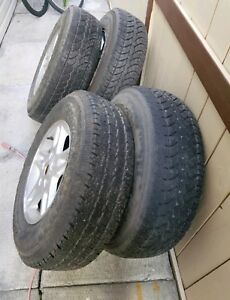 16 inch Tires and Rims 225/75R16