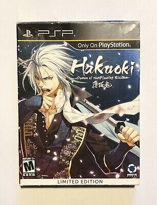 Hakuoki: Demon of the Fleeting Blossom -- Limited Edition (Sony PSP, (Hakuoki Demon Of The Fleeting Blossom Psp)