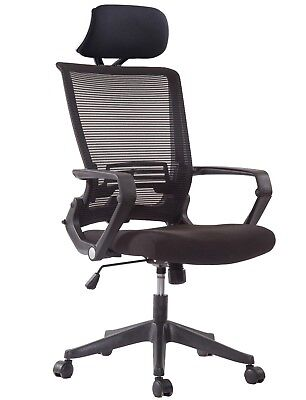 Ergo Hq Kairo Ergonomic Computer Desk Chair Home Office Easy Fold Out Adjustable